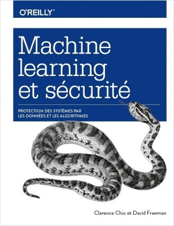 Book cover of Machine Learning & Security (French)